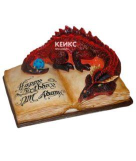 Торт открытая книга 2