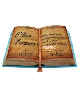 Торт открытая книга 3