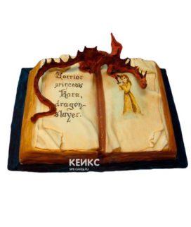 Торт открытая книга 5