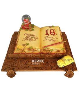 Торт открытая книга 6