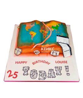 Торт открытая книга 8