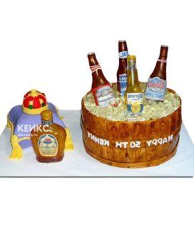 Торт парню на 24 года 2