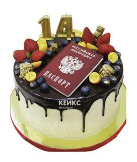 Торт паспорт 4
