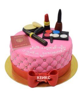 Торт паспорт для девочки 5