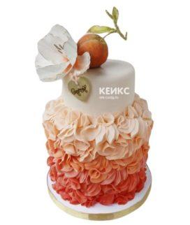 Торт персиковый 2