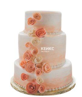 Торт персиковый 3