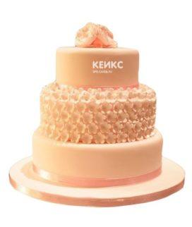 Торт персиковый 5