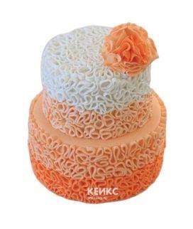 Торт персиковый 6