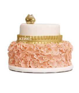 Торт персиковый 7