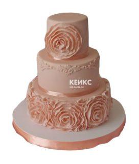 Торт персиковый 8