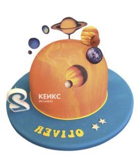 Торт планета-15