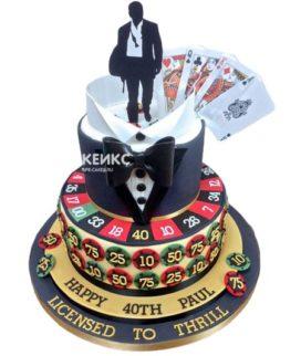Торт покер-1