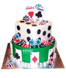 Торт покер-2