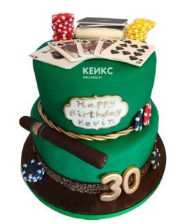 Торт покер