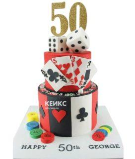 Торт покер-3