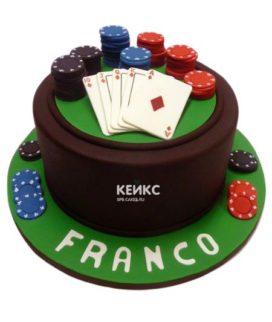 Торт покер-5