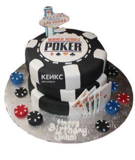 Торт покер-7
