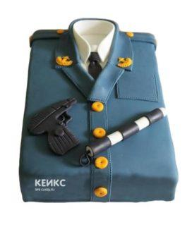 Торт полицейская форма-3