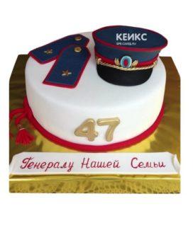 Торт полицейская фуражка