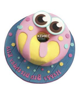 Торт пончик-4