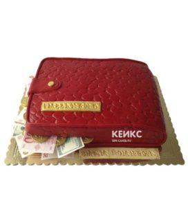 Торт портмоне 2