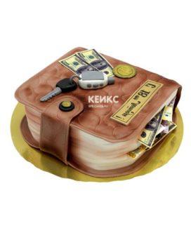 Торт портмоне 3