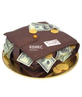 Торт портмоне 4