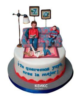 Торт прикольный для мамы 4