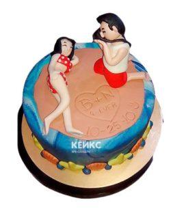 Торт прикольный для женщины 10