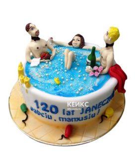 Торт прикольный для женщины 11