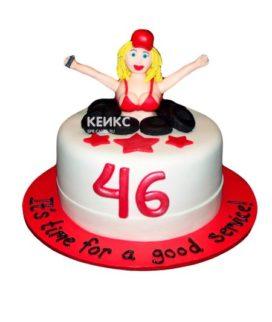Торт прикольный для женщины 4