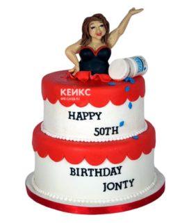 Торт прикольный для женщины 5