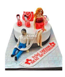 Торт прикольный для женщины 7