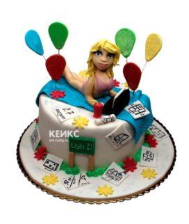 Торт прикольный для женщины 8