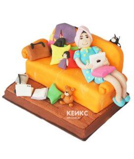 Торт прикольный для женщины 9