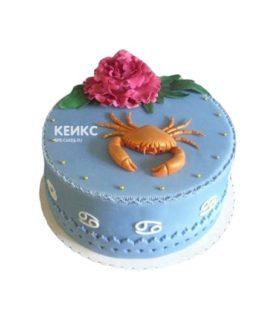 Торт рак 1