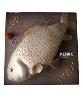 Торт рыба-10