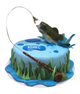 Торт рыба-11