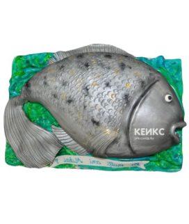 Торт рыба-13