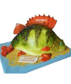 Торт рыба-14