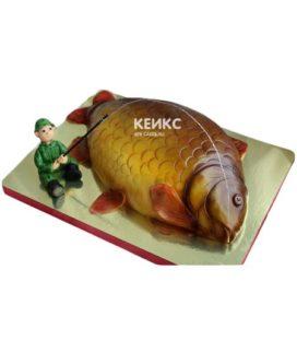 Торт рыба-15