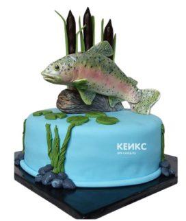 Торт рыба-9