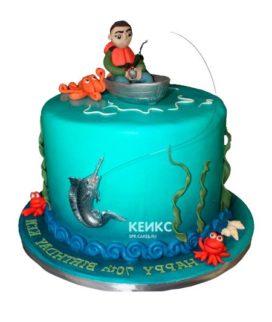 Торт рыбалка-12