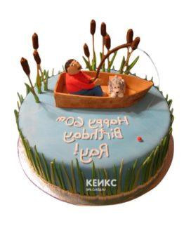 Торт рыбалка-21