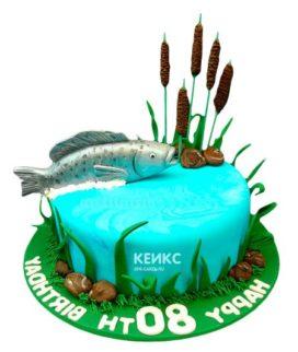 Торт рыбалка-9