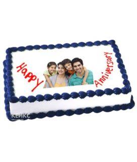 Торт с фотопечатью для мужчины-14