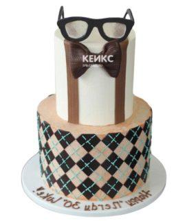 Торт с ярусами для мужчины-1