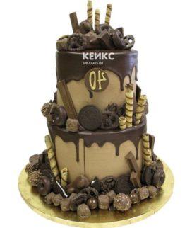 Торт с ярусами для мужчины-12
