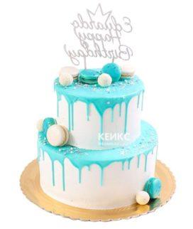 Торт с ярусами для мужчины-14