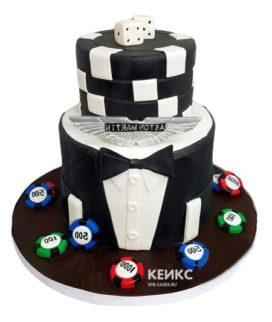 Торт с ярусами для мужчины-15